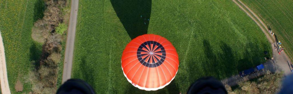 Schweben erleben mit Ballonpilot