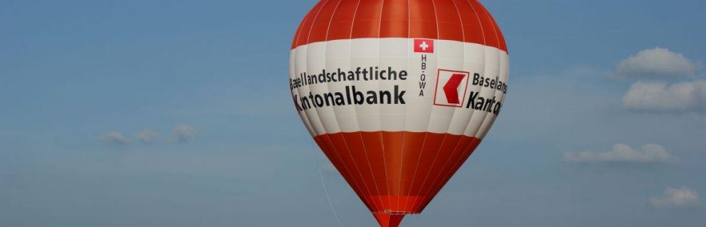 Jungfernfahrt HB-QWA Ballonpilot